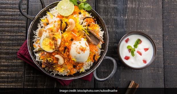 Egg Biryani Recipe How To Make Anda Biryani Egg Rice Recipe