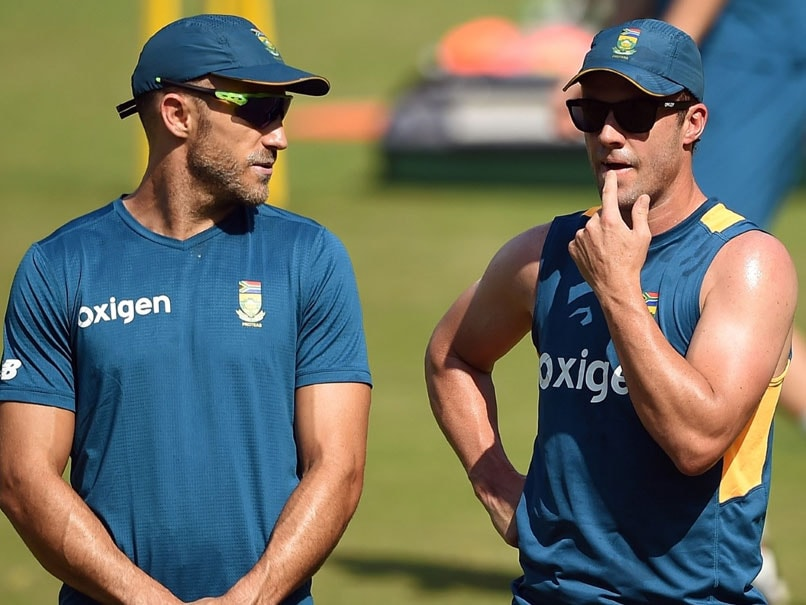 Du Plessis Hints At De Villiers Possible Return To South Africa T20 Team