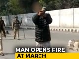 "Video : Massive Protests After Man Shoots Jamia Student, Shouts ""Yeh Lo Azaadi"""
