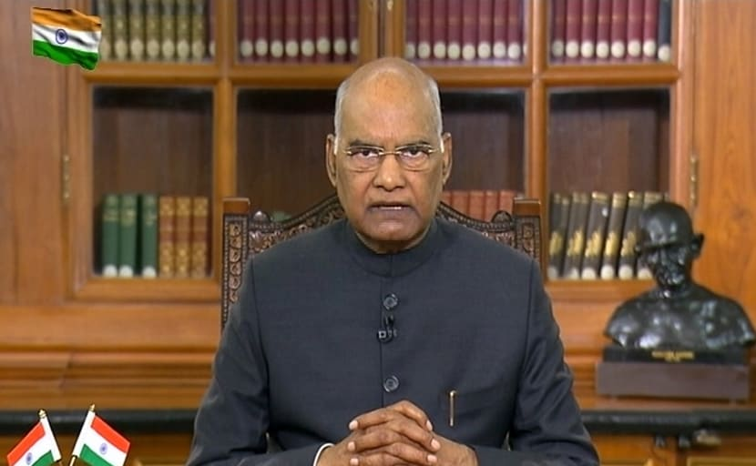 Full Text Of President Ram Nath Kovind's Address On Republic Day Eve