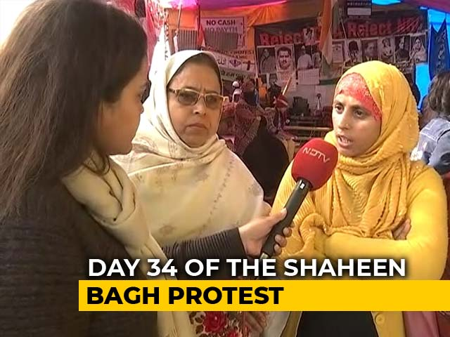 Video: 'PM Said Dialogue Is Important, Come Here And Talk To Us: Shaheen Bagh Protesters