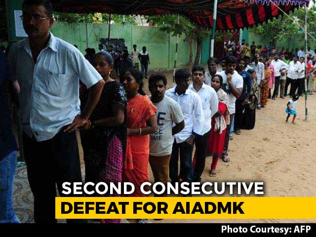 Video : DMK's Big Lead In Tamil Nadu Local Body Polls Amid Cheating Claim