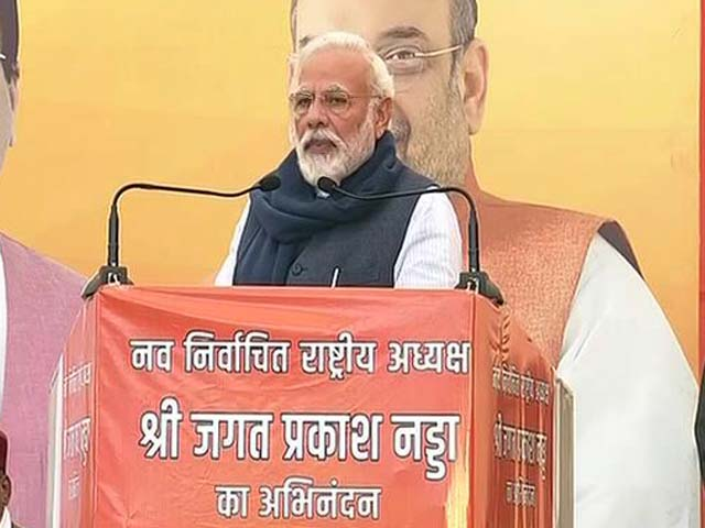 """Video : Parties """"Discarded By People"""" Spreading Lies: PM Amid Nationwide Protests"""