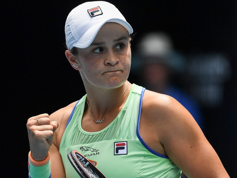 Ashleigh Barty Breezes Into Next Round At Windswept Australian Open