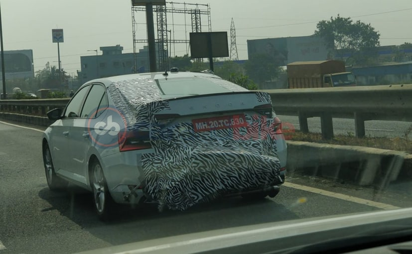 2020 Skoda Superb Spotted Testing Ahead Of Its Launch In May