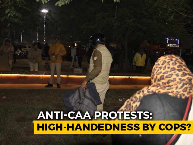 """Video : """"Seized Blankets After Due Process"""": Lucknow Cops On Anti-CAA Protest"""