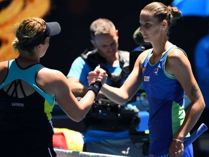 World No.2 Karolina Pliskova Crashes Out In Latest Australian Open Shock