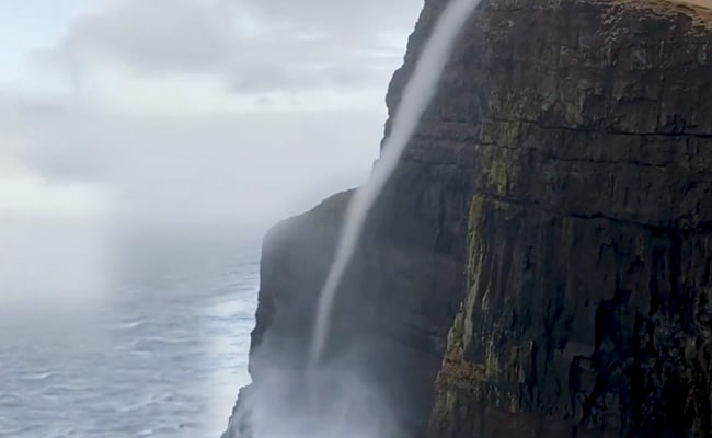 Incredible Footage Shows Water Flowing Upwards. Here's Why It Happened