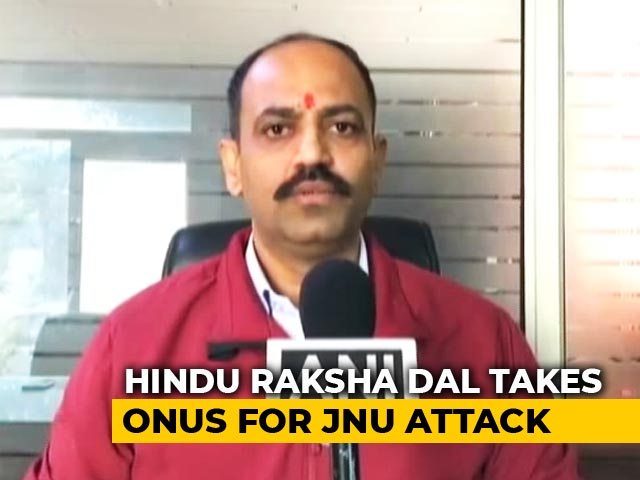 """Video : Fringe Group Claim Of """"We Did It"""" For JNU Attack Being Probed: Sources"""