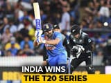 Video : Rohit Sharma's Super Over Heroics Hand India 1st T20I Series Win In New Zealand