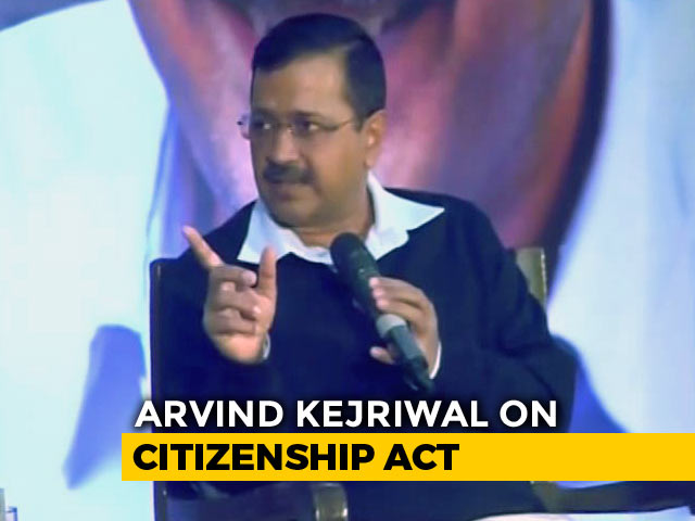 Video : No Need For Citizenship Act, Focus On Unemployment: Arvind Kejriwal On NDTV Townhall