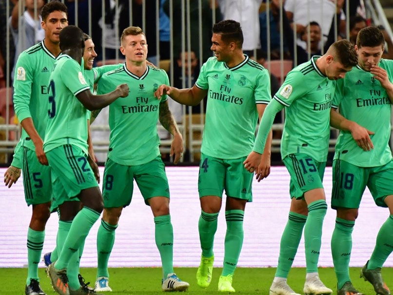 Toni Kroos Stunner Helps Real Madrid Through To Spanish Super Cup Final