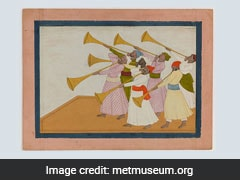 "British Museum Acquires Rare Indian Painting ""Trumpeters"" For $576K"