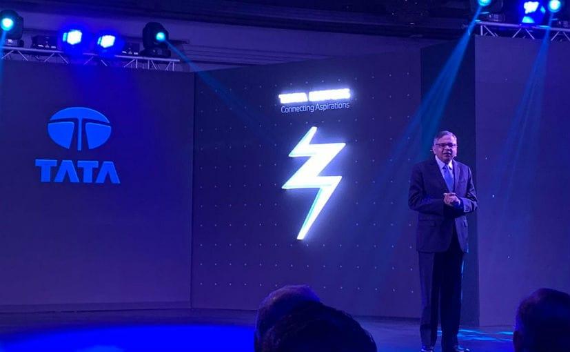 N Chandrasekaran, Chairman, Tata Sons, at the Tata Nexon EV launch