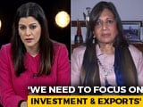 "Video : ""Not Surprising"", Says Kiran Shaw On IMF Prediction Of India Slowdown"