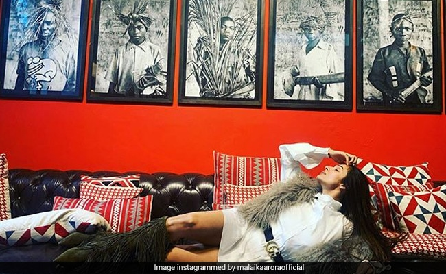 Malaika Arora's 'Gutsy' Lounging Pic Will Make You Rethink Your Plans For Today