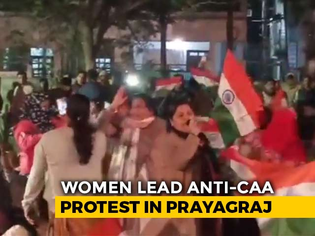 Video: In UP's Prayagraj, Anti-CAA Sit-In Tries To Emulate Delhi's Shaheen Bagh