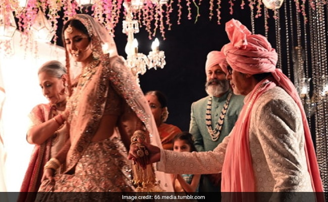 When Amitabh Bachchan Met 'Three Superstars' At Katrina Kaif's 'Wedding'