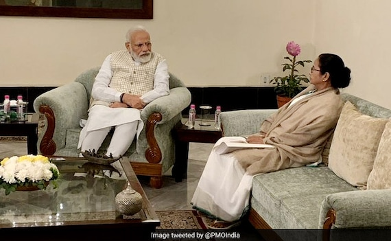 Mamata Banerjee Heads To PM's House For Meeting