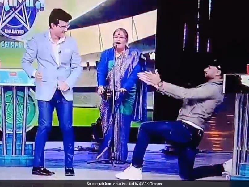 Sourav Ganguly, Harbhajan Singh Share A Dance As Usha Uthup Sings