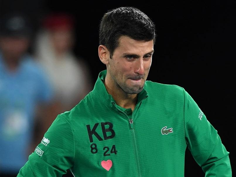 """""""He Was My Friend, My Mentor"""": Teary-Eyed Novak Djokovic Pays Tribute To Kobe Bryant"""