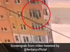 ৯০ ফুট উঁচু থেকে সটান নিচে, কীহল তারপর? দেখুন Viral Video