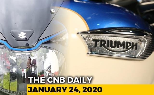 Triumph Bajaj, Tata Nexon EV launch, Skoda Vision IN