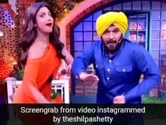 कपिल शर्मा बने नवजोत सिंह सिद्धू तो शिल्पा शेट्टी ने साथ में यूं झूमकर किया डांस- देखें Video