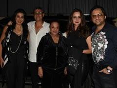 Alaya Furniturewalla's <I>Jawaani Jaaneman</I> Fam-Jam, Led By Pooja Bedi And Farhan Furniturewalla