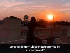 नेचर की गोद में पहुंचीं सुष्मिता सेन, Video देख खिल उठेगा आपका भी चेहरा