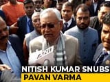 Video : Free To Leave: Nitish Kumar Dares Party Colleague In Fight Over CAA