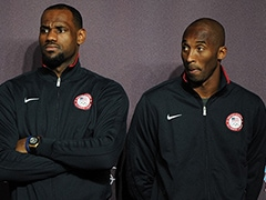 On Camera, LeBron James In Tears After Kobe Bryant