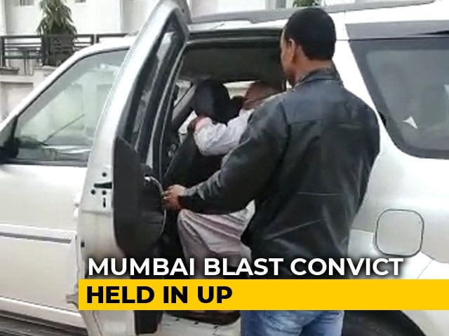 "Video : Mumbai Blasts Convict ""Doctor Bomb"" Who Jumped Parole Arrested In UP"