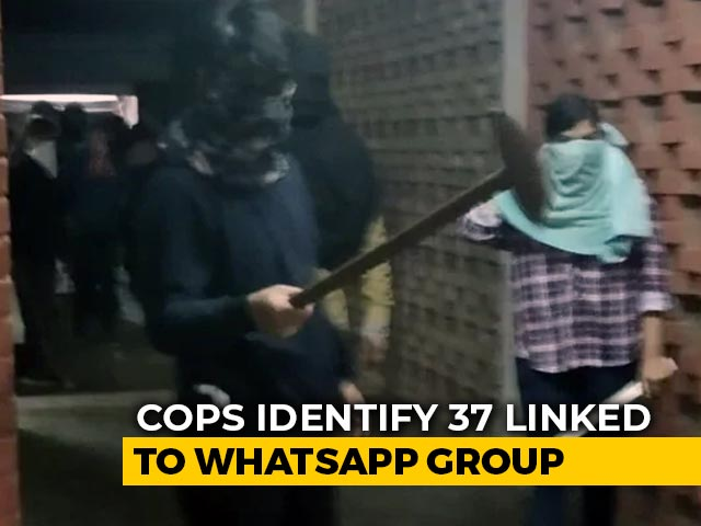 Video : 37 People Identified In WhatsApp Group Linked To JNU Attack: Sources