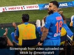 Ind Vs NZ: विराट कोहली ने खड़े होकर दिखाया गुस्सा फिर बैठकर करने लगे डांस, देखें TikTok Viral Video
