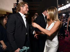'Sweet': Jennifer Aniston's Reaction To Brad Pitt Watching Her SAG Awards Speech