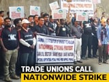 Video : In Mumbai, Bharat Petroleum Employees Join Nationwide Strike By Trade Unions