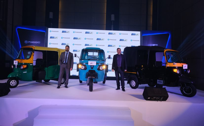 Saju Nair, EVP & Head of CV Business and Malind Kapur, Senior VP Markt Channel Development Piaggio India