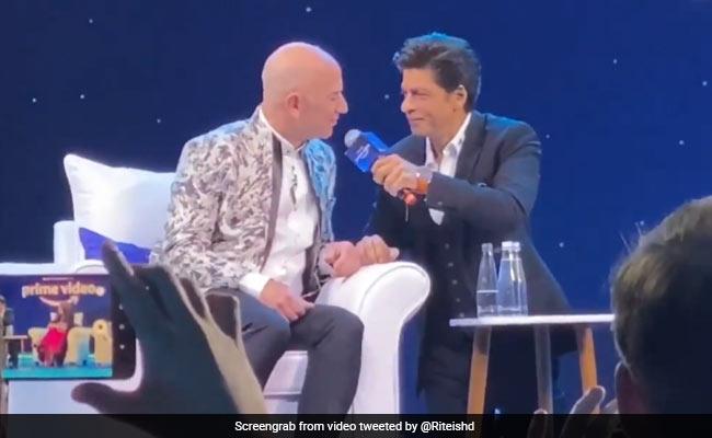 When Shah Rukh Khan Made Jeff Bezos Say This Dialogue From Don