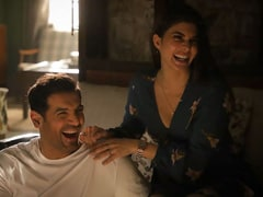 Seen This Pic Of Jacqueline Fernandez And John Abraham From The Sets Of <I>Attack</I>?