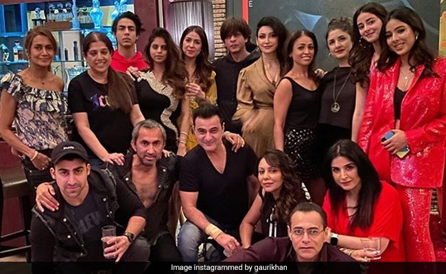 Inside Shah Rukh Khan And Gauri's New Year's Party. See Who The Couple Invited