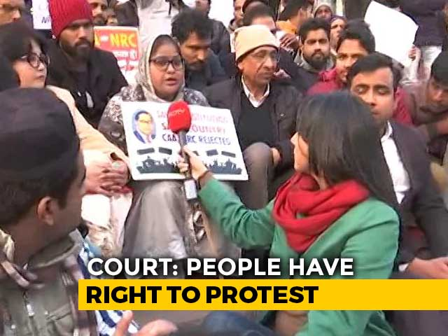 Video : Anti-CAA Protests At Jama Masjid: Right To Protest vs Section 144