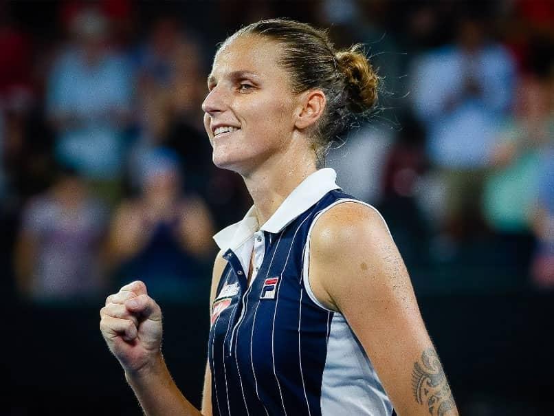 Karolina Pliskova Sees Off Naomi Osaka In Epic Brisbane Semi-Final