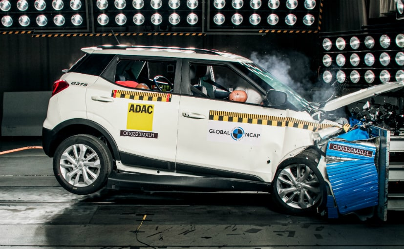 The Mahindra XUV300 gets the highest crash test rating among all Indian cars tested by Global NCAP