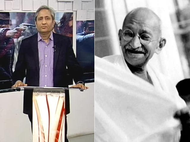 Video : NDTV's Ravish On The Song He Chose To Honour Bapu
