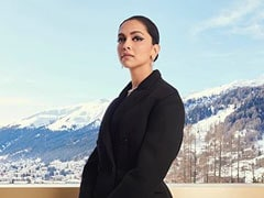 Deepika Padukone In Davos, Trumps The Breathtaking View Looking Like This
