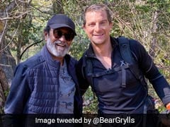 """Love You"": Rajinikanth Thanks Bear Grylls For ""Unforgettable Experience"""