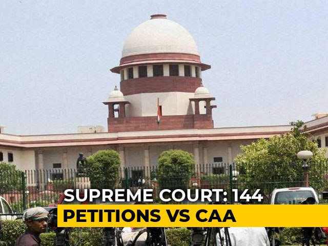 Video : Top Court Refuses To Stay Citizenship Act, Centre Has 4 Weeks To Respond