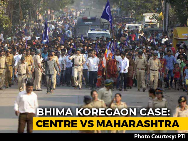 "Video : ""Unconstitutional,"" Says Maharashtra As Central Agency NIA Takes Over Koregaon-Bhima Case"