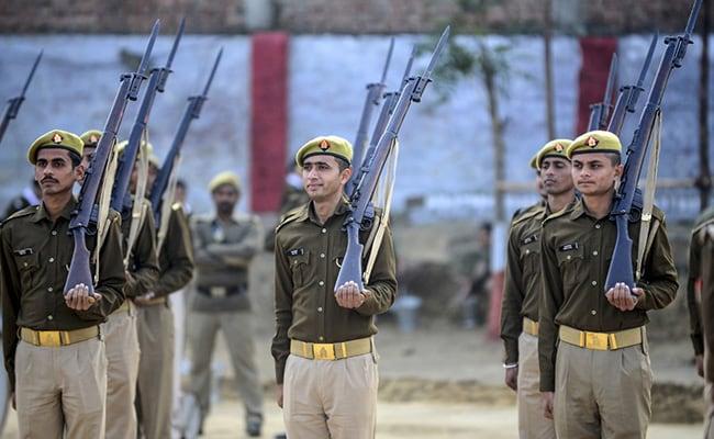 Uttar Pradesh Police Decommission Historic British-Era Rifles On Republic Day